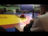 Гуревичи 2014. Фензиев(Азербайджан) - Бопембе(Беларусь). Полуфинал веса до 100 кг.